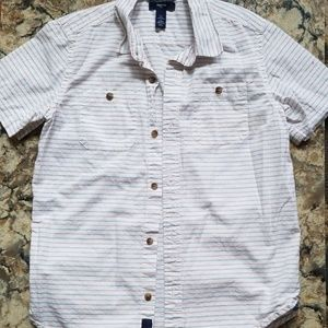 Gap short sleeve button up